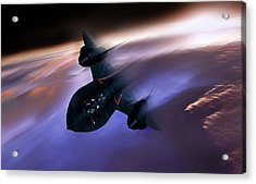 Beyond Mach 3 Acrylic Print by Peter Chilelli