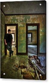 Beyond Regrets Of The Past Acrylic Print by Evelina Kremsdorf