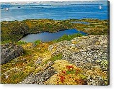 Beyond The Arctic Circle Acrylic Print by Maciej Markiewicz