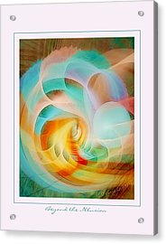 Beyond The Illusion Acrylic Print by Gayle Odsather
