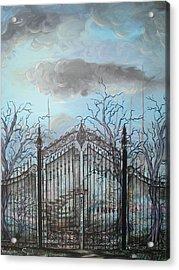 Beyond The Iron Gates Acrylic Print