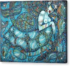 Beyond The Oceans... Acrylic Print