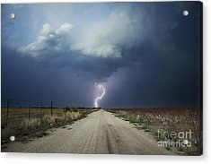 Beyond The Open Road Acrylic Print