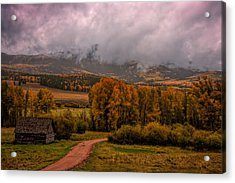 Acrylic Print featuring the photograph Beyond The Road by Ken Smith