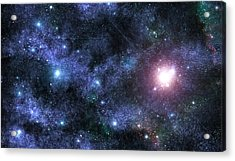Beyond The Stars Acrylic Print by Jayden Bell
