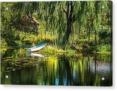 Beyond The Willow Acrylic Print