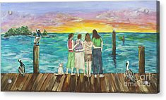Bff Morning Acrylic Print
