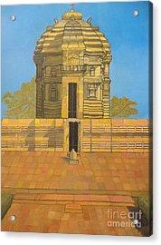 Bhaskareshwar- Shiva Temple Acrylic Print