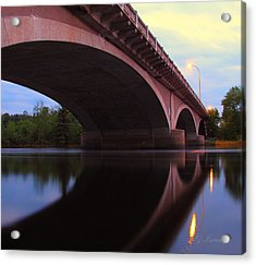 Biauswah Bridge Acrylic Print by Gregory Israelson