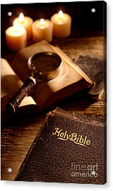Bible Study Acrylic Print