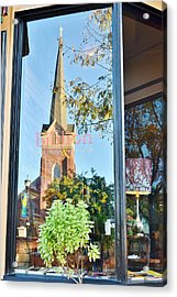 Biblion Used Books Reflections 3 - Lewes Delaware Acrylic Print