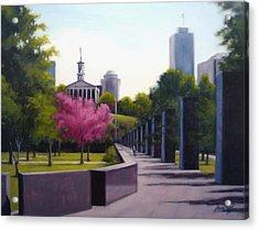 Bicentennial Capital Mall Park Acrylic Print by Janet King