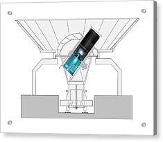 Bicep2 Telescope Acrylic Print