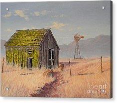 Bickelton Barn Acrylic Print