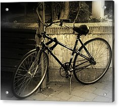 Bicycle Acrylic Print by Amr Miqdadi