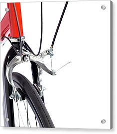 Bicycle Brakes Acrylic Print by Science Photo Library