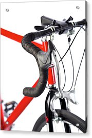 Bicycle Handlebars Acrylic Print by Science Photo Library