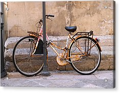 Bicycle Lecce Italy Acrylic Print