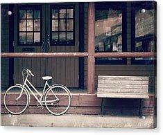Bicycle Acrylic Print by Lisa Knechtel