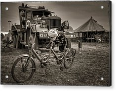 Bicycle Made For Two Acrylic Print by Jason Green
