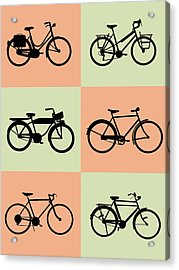 Bicycle Poster Acrylic Print