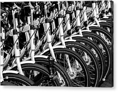 Bicycles Bicycles Bicycles Acrylic Print
