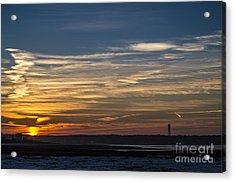 Biddeford Pool Maine Sunset Acrylic Print