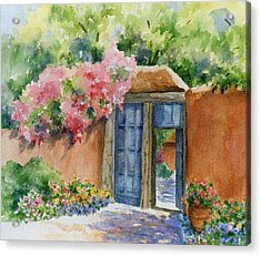 Acrylic Print featuring the painting Bien Venidos by Ann Peck