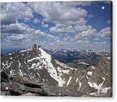 Bierstadt In Summer Acrylic Print by Cam  McCord