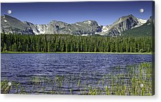 Bierstadt Lake Acrylic Print by Tom Wilbert