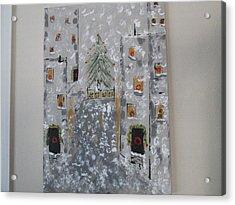 Big Apple Christmas Acrylic Print