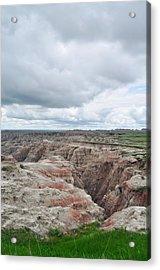 Big Badlands Overlook Acrylic Print