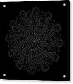 Big Bang Inverse Acrylic Print
