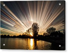 Big Bang Acrylic Print by Matt Molloy