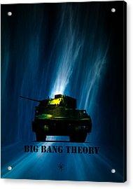 Big Bang Theory Acrylic Print by Bob Orsillo
