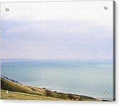 Big Beachy Head Sky ... As A Canvas Acrylic Print by Connie Handscomb