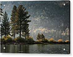 Big Bear Lake Scenic Acrylic Print by Sharon Beth