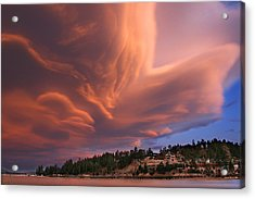 Big Bear Lake Storm Acrylic Print