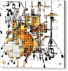 Big Beats Acrylic Print by Russell Pierce