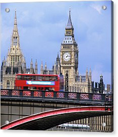 Big Ben And The Houses Of Parliament Acrylic Print by Mark Thomas/science Photo Library