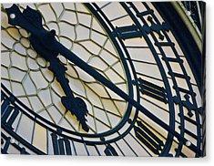 Big Ben Clock Face, London, England Acrylic Print