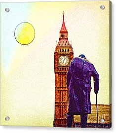 Big Ben In London Acrylic Print