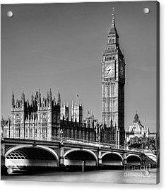 Big Ben Acrylic Print by John Farnan