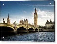 Big Ben, London Acrylic Print by Tangman Photography