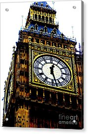 Big Ben Acrylic Print by Sophia Elisseeva