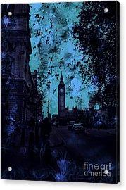 Big Ben Street Acrylic Print