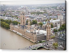 Big Ben Westminster Acrylic Print by Donald Davis