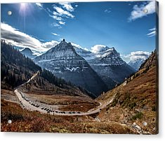 Acrylic Print featuring the photograph Big Bend by Aaron Aldrich
