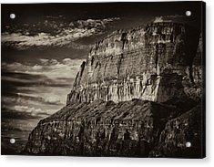 Big Bend Cliffs Acrylic Print