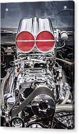 Big Big Block V8 Motor Acrylic Print